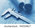 technology  blueprints | Shutterstock . vector #94524817