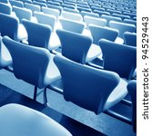 football stadium chairs  modern ... | Shutterstock . vector #94529443