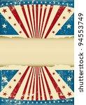 grunge patriotic background. an ... | Shutterstock .eps vector #94553749