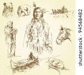 wild west   Shutterstock .eps vector #94568482
