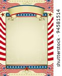 traditional american background.... | Shutterstock .eps vector #94581514