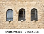Old Wall Made From Jerusalem...