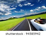 mountain landscape with road... | Shutterstock . vector #94585942