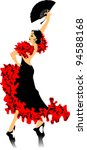 antique,art,artistic,background,color,colorful,copses,dance,dancer,dress,fan,female,flamenco,gown,grace