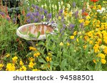 Beautiful Flower Garden With...
