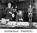 EXPERIMENTAL MEDICINE - stock photo