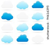 cloud | Shutterstock .eps vector #94616395