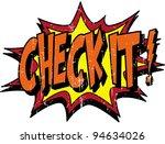 check it | Shutterstock .eps vector #94634026