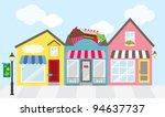vector illustration of strip... | Shutterstock .eps vector #94637737