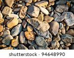 closeup of gravel stone texture ... | Shutterstock . vector #94648990