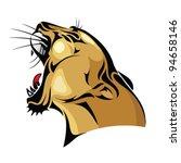 america,anger,animal,artwork,beast,black,cartoon,cat,club,cougar,danger,emblem,fangs,feline,ferocious