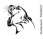 aggression,america,anger,animal,big,captive,cat,cougar,danger,element,emblem,face,fang,furious,head