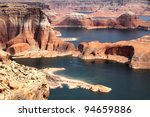 lake powell and glen canyon in... | Shutterstock . vector #94659886