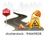 illustration of under... | Shutterstock .eps vector #94669828