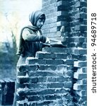 Bricklayer\'s Labourer In An...
