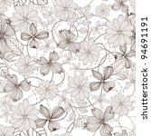 abstract nature pattern with... | Shutterstock .eps vector #94691191