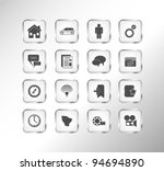 web icon set | Shutterstock .eps vector #94694890