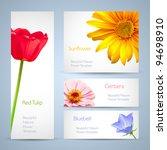 spring flowers invitation... | Shutterstock .eps vector #94698910