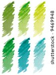 strokes green | Shutterstock .eps vector #9469948
