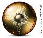 Ancient Golden Shield