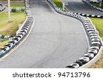 go kart race track. | Shutterstock . vector #94713796