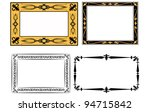 set of frame | Shutterstock .eps vector #94715842