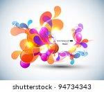 color vector bubbles banner