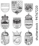 coat of arms from austria... | Shutterstock .eps vector #94767220