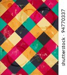 abstract squary colorful retro... | Shutterstock .eps vector #94770337