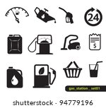 gasoline station icons | Shutterstock .eps vector #94779196