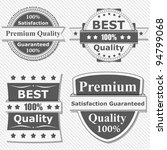 set of premium quality labels ... | Shutterstock .eps vector #94799068