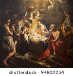 Birth Of Jesus   Paint From...
