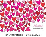 Vector Valentine Design With...