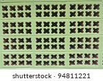brick block with hole pattern... | Shutterstock . vector #94811221