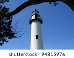 Historic Lighthouse On St...