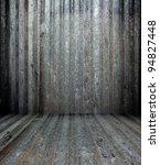 3d grunge metal texture in... | Shutterstock . vector #94827448