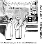 science cartoon