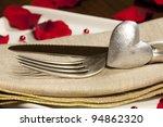 valentine's romantic dinner... | Shutterstock . vector #94862320