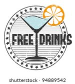 free drinks stamp