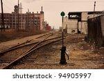Railroad Tracks In Detroit ...