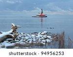 A Tug Boat On The Fraser River...