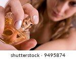 beautiful caucasian woman... | Shutterstock . vector #9495874