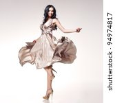 young beautiful caucasian... | Shutterstock . vector #94974817