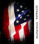flag of the usa  united states...   Shutterstock . vector #94994155