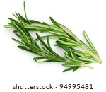 Rosemary spices - stock photo