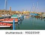Yachts And Boats At Old Harbor...