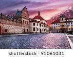Street Of Prague  Czech Republic