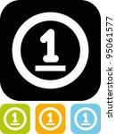 cash money   simple vector icon   Shutterstock .eps vector #95061577