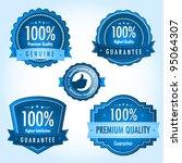 blue satisfaction guarantee... | Shutterstock .eps vector #95064307