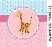 giraffe | Shutterstock .eps vector #95068723